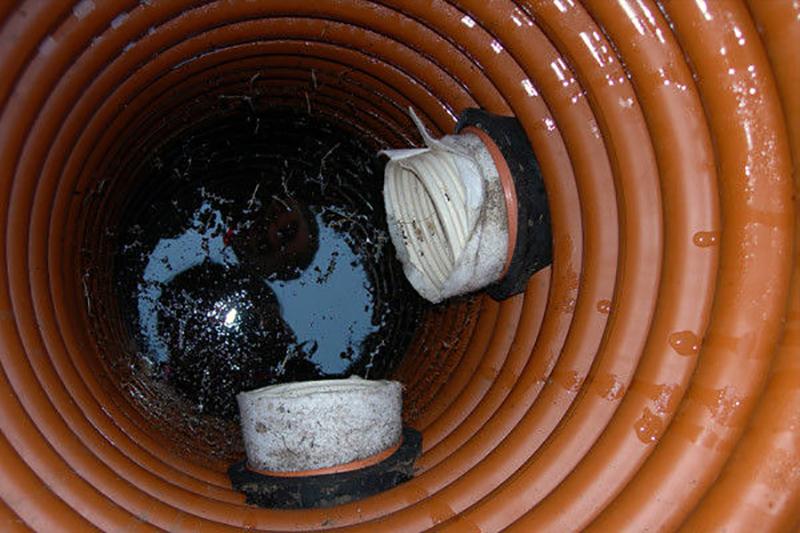 Дренажный колодец Купить ластиковые колодцы для дренажа