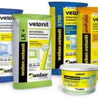 Строительные смеси Vetonit