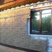 Монтаж фасадных панелей Grand Line