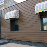 Отделка фасада сайдингом Cedral