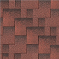 Skyline Tile Red
